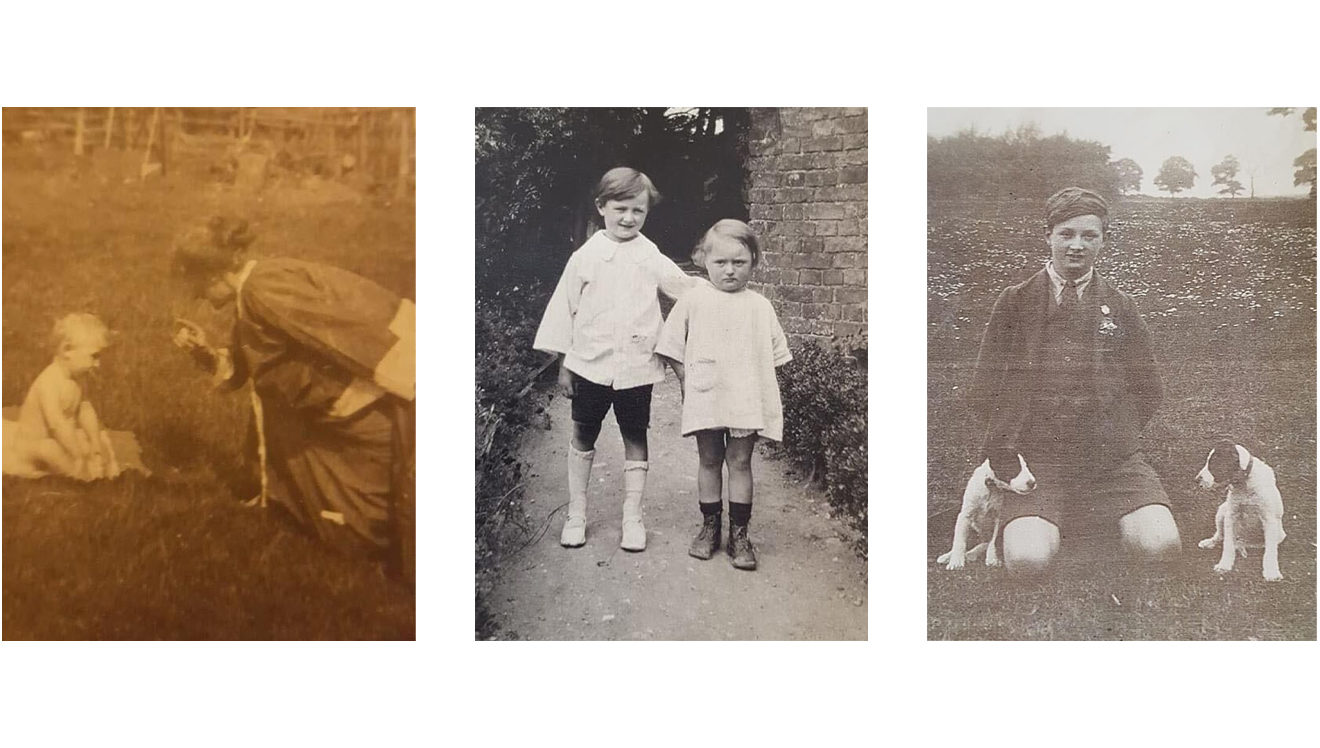 E Mapleston family photos