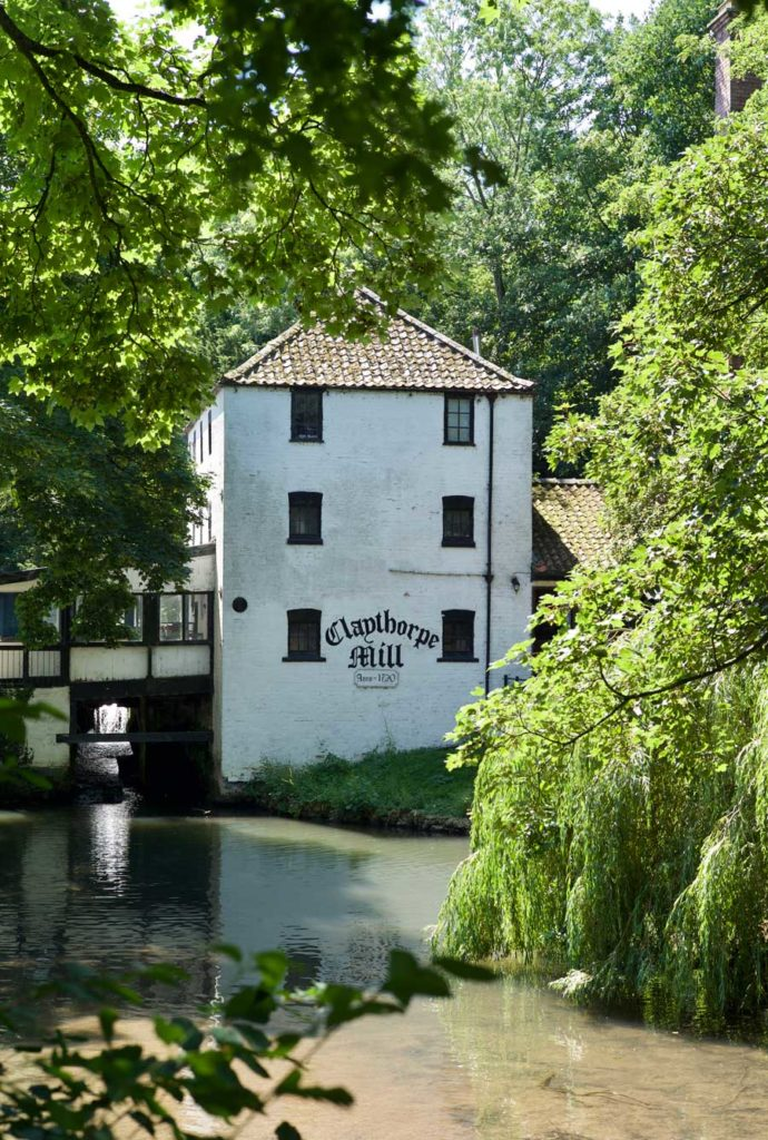 Claythorpe Mill, which can be seen on South Ormsby Estate's Cafe Walks