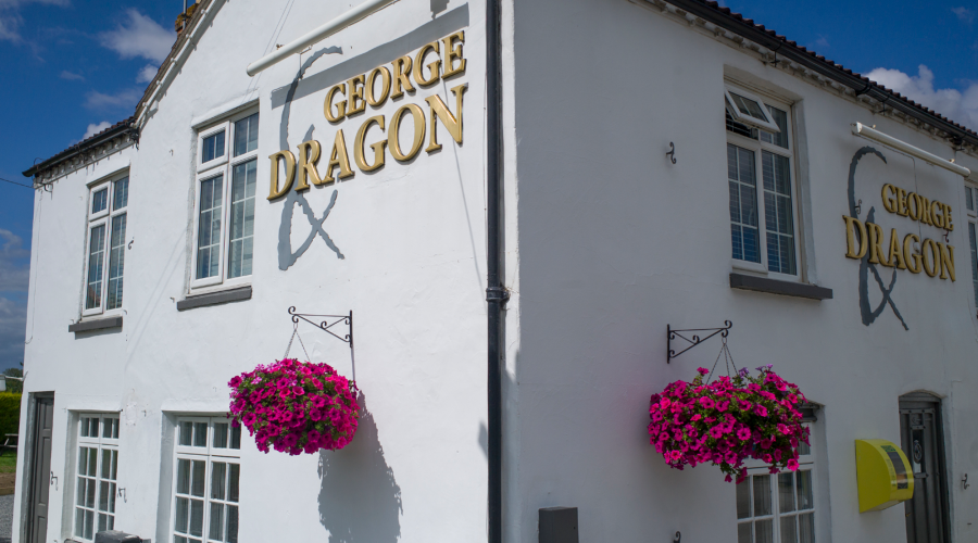 The George & Dragon, one of many Lincolnshire Pubs in the area