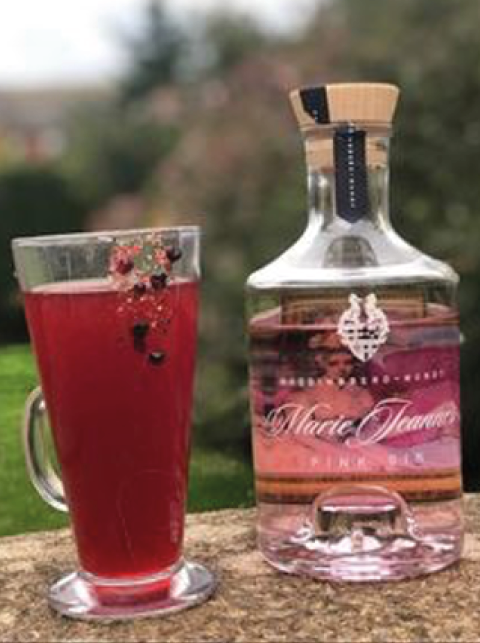 MJ's Hot Bramble Gin Cocktail