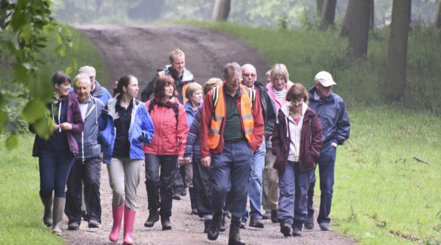 walking group in woodlands
