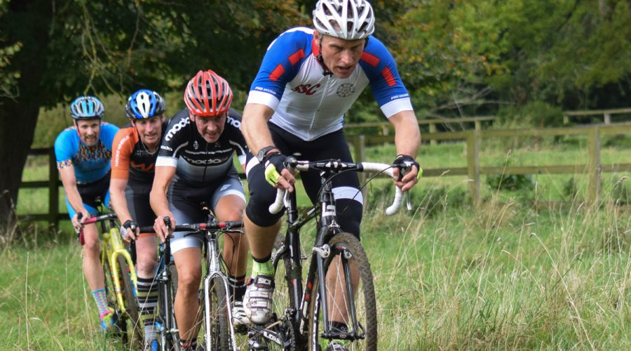 Group cycling through the Lincolnshire Wolds