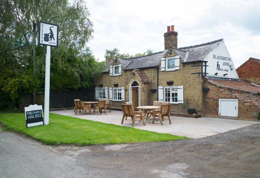 The Blacksmiths Arms, in the Lincolnshire Wolds
