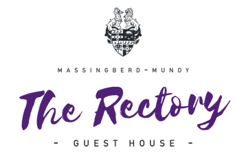 The rectory guest house at south ormsby estate logo