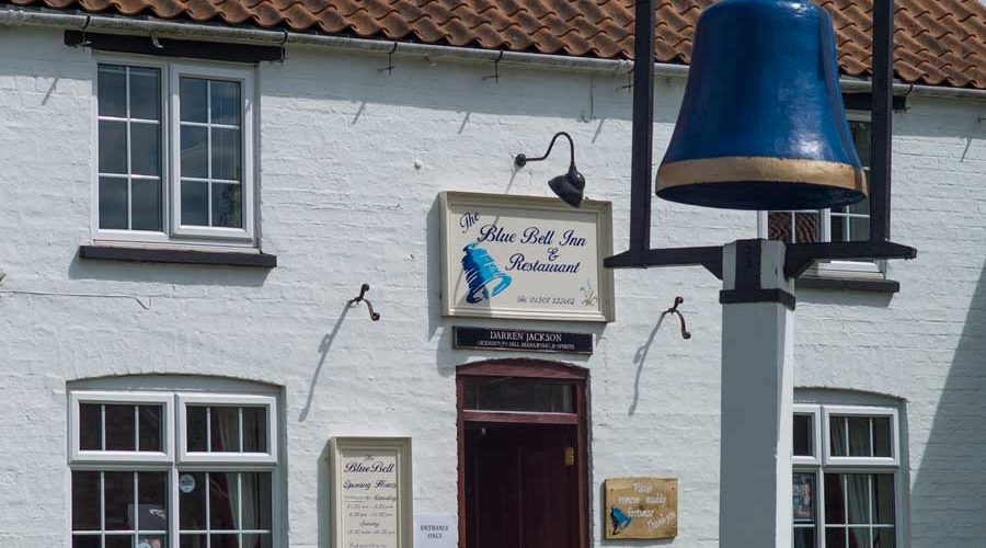 The Blue Bell Inn, one of many Lincolnshire Pubs in the Local Area