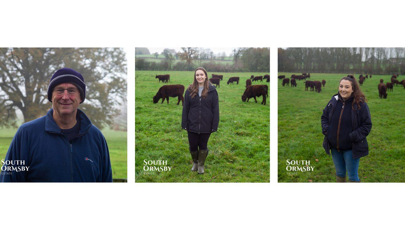 Countryfile Stars: Jon Thornes, Emma Wright and Keira Rhodes