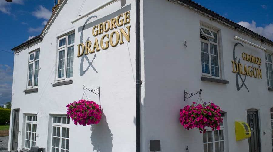 The George and Dragon pub, which can be seen on our pub walks